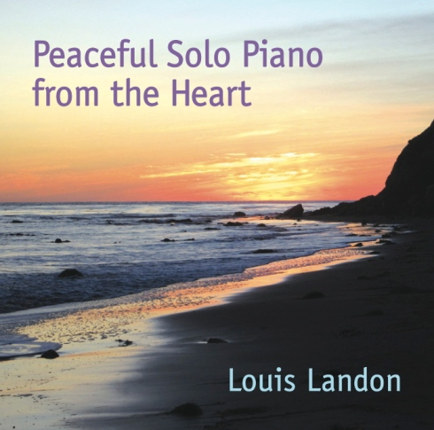 Peaceful Solo Piano CD cover