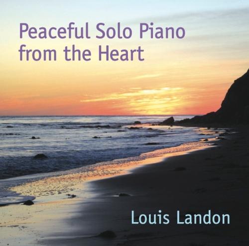 Peaceful Solo Piano CD cover
