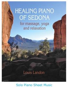 Healing Piano new sheet music cover jpg