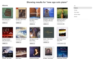 New Age Solo Piano iTunes Search