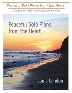 Peaceful Solo Heart new sheet music cover jpg