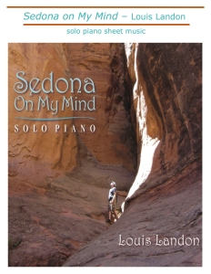 Sedona on My Mind new sheet music cover jpg
