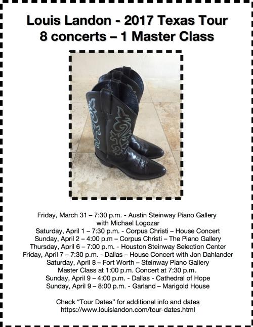 Landon 2017 Texas Tour Poster 3
