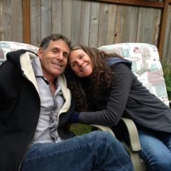 Me and Christine in Victoria, BC
