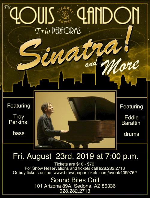Sinatra and More Sound bites Aug 23rd.
