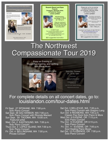NW Compassionate Tour 2019 Poster