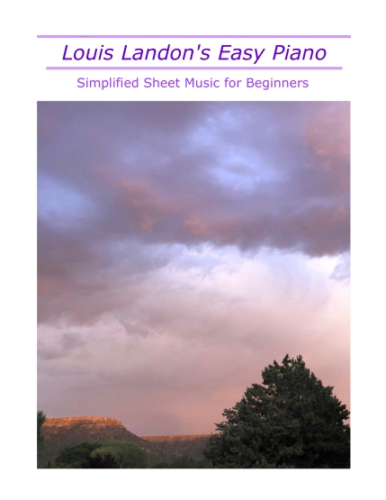 Simplified Sheet Music Cover