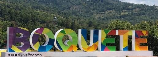 Boquete sign