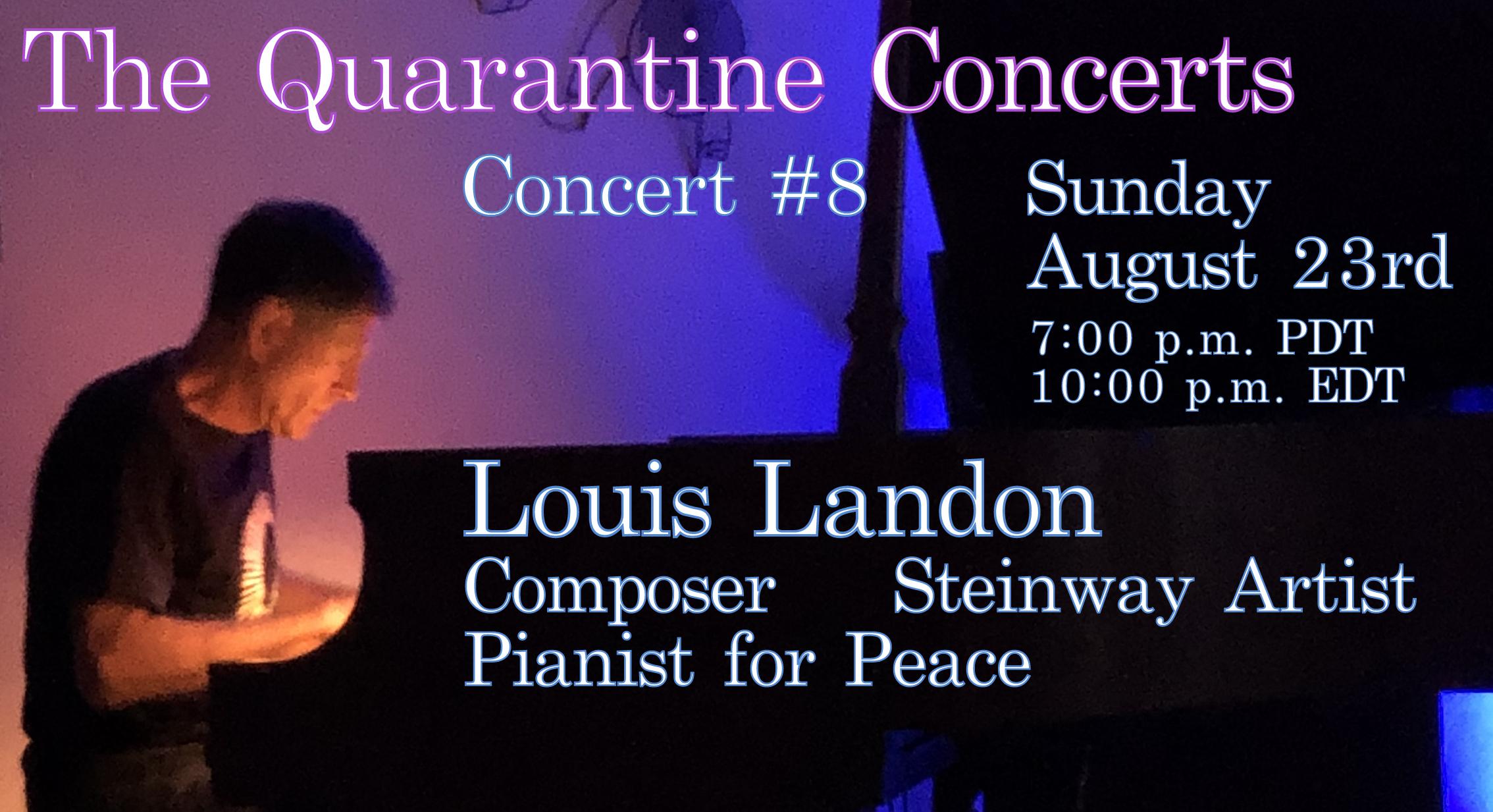 Quarantine Concert #8
